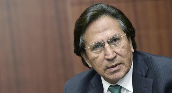 נשיא פרו לשעבר אלחנדרו טולדו. צו הבאה הוצא גם נגדו, צילום: איי אף פי