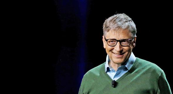 ביל גייטס. הכי עשיר בעולם עם 86 מיליארד דולר