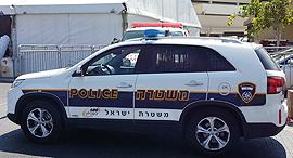 רכב משטרה חדש, צילום: דוד הכהן