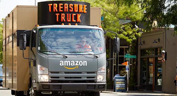 משאית אמזון סיאטל, צילום: amazon