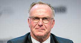 "קרל היינץ רומיניגה יו""ר באיירן מינכן  ECA, צילום: גטי אימג'ס"