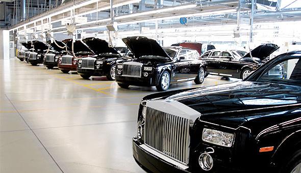 מפעל רולס רויס בבריטניה