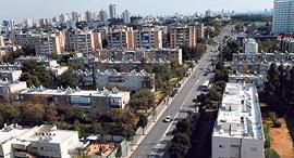 רחוב לה גווארדיה בתל אביב, צילום: עמית שעל