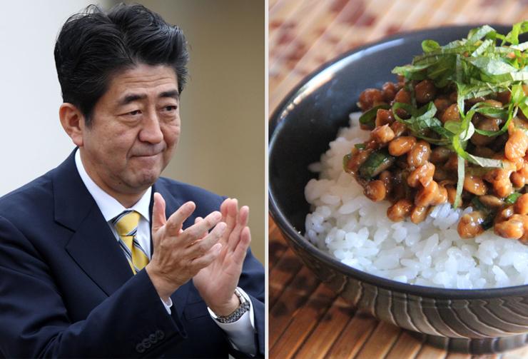 אבה ופולי סויה. מעדיף מאכלים יפניים מסורתיים