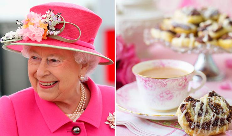 המלכה אליזבת. חובבת עוגיות שוקולד