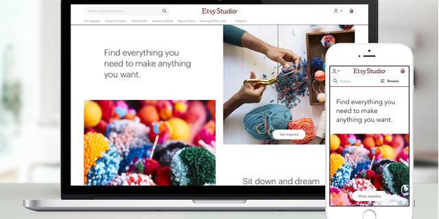 Etsy משיקה אתר חדש שיציע ציוד יצירה והדרכה לפתיחת חנות מקוונת