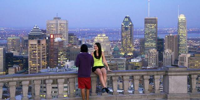 מונטריאול, קנדה. מראה מפארק מאונט רויאל, צילום: nationalgeographic / CATHERINE KARNOW