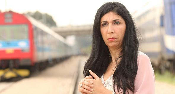"""גילה אדרעי, יו""""ר ועד עובדי רכבת ישראל"""
