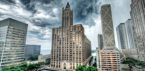 """מגדל פלייבוי שיקאגו ארה""""ב, צילום: Flickr/ShutterRunner"""