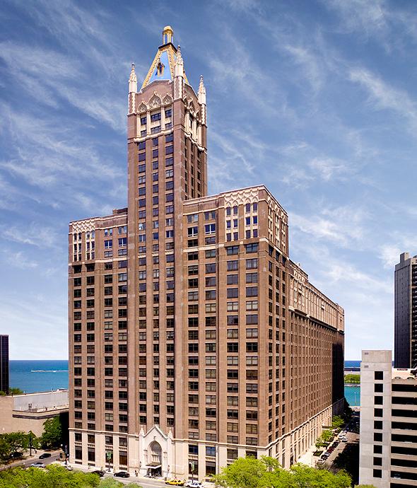 """מגדל פלייבוי שיקאגו ארה""""ב, צילום: אתר החברה"""