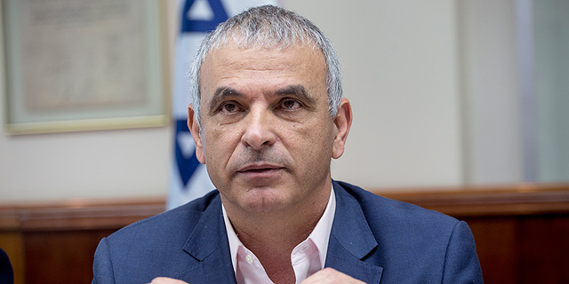 Israeli Minister of Finance Moshe Kahlon