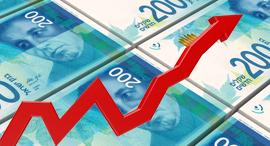 צמיחה עלייה שטרות כסף, צילום: שאטרסטוק