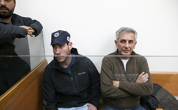 ראש עיריית כפר סבא יהודה בן חמו בהארכת מעצר (ארכיון), צילום: אוראל כהן