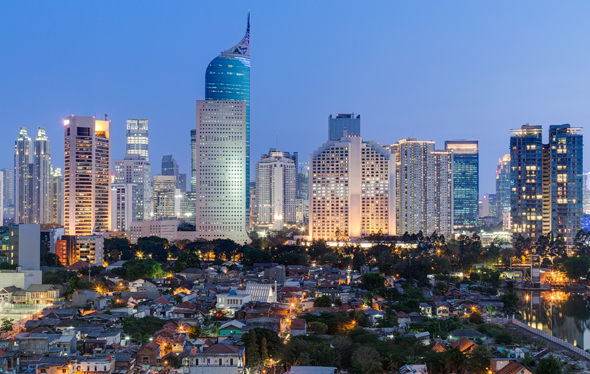 Indonesia's capital city Jakarta. Photo: Shutterstock