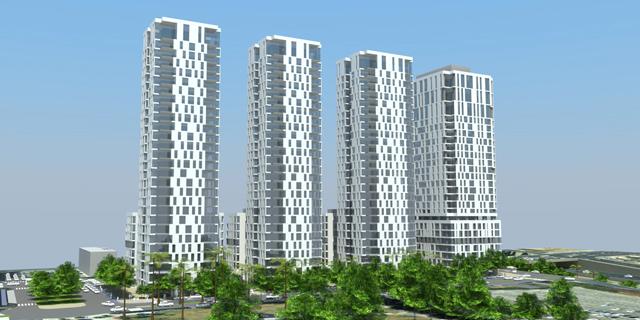 """הוועדה המחוזית אישרה את התוכנית ל-3 מגדלי מגורים ברחוב לה גוארדיה בת""""א"""