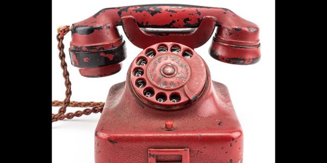 הטלפון של היטלר נמכר במכירה פומבית ב-243 אלף דולר