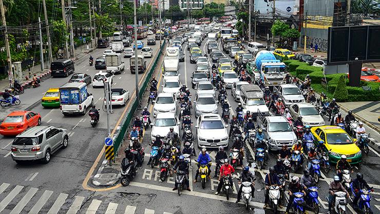 פקקים בבנגקוק. הגרועים ביותר בעולם