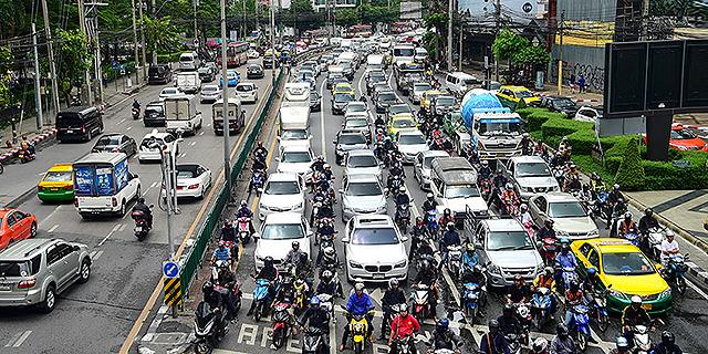 תקועים בפקק: 15 הערים הגרועות בעולם מבחינת העומס בכבישים