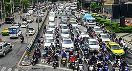 ערים גרועות בעולם מבחינת ה עומס בכבישים בנגקוק, צילום: גטי אימג'ס
