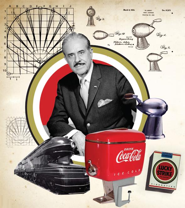 """ריימונד לואי ומוצרים בעיצובו. """"האיש שעיצב את אמריקה"""" זיהה כבר לפני יותר מ־80 שנה מה יוצר להיט"""