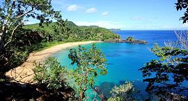 חופים היפים בעולם Baia do Sancho ברזיל, צילום: TripAdvisor