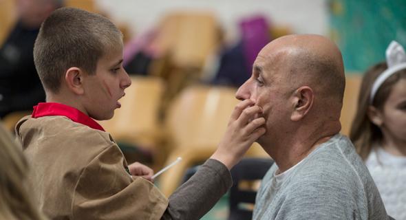 ג'וינט ישראל-אשלים. פעילות עם ילדים הסובלים ממוגבלות