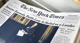 העיתון הניו יורק טיימס, צילום: בלומברג