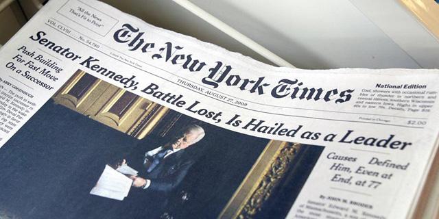 ניו יורק טיימס רשם את הרבעון הטוב בתולדותיו מבחינת לקוחות הדיגיטל בתשלום