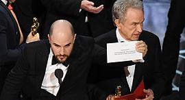 וורן בייטי מכריז בטעות על לה לה לנד כ זוכה ב אוסקר, צילום: איי אף פי