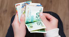 שכר כסף שטרות שקל שקלים תשלום משכורת השקעה, צילום: שאטרסטוק