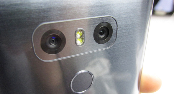 השקת טלפון סלולרי LG G6 תערוכת המובייל MWC ברצלונה 4, צילום: עומר כביר