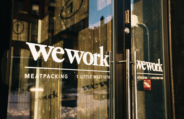 WeWork in New York. Photo: WeWork