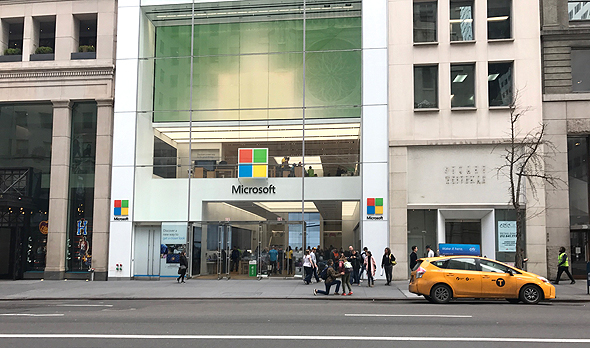 חנות מיקרוסופט ניו יורק, צילום: גבי קסלר