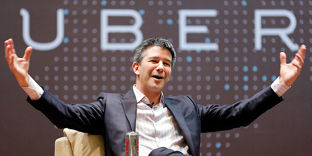 """טראוויס קאלניק מנכ""""ל אובר, צילום: רויטרס"""