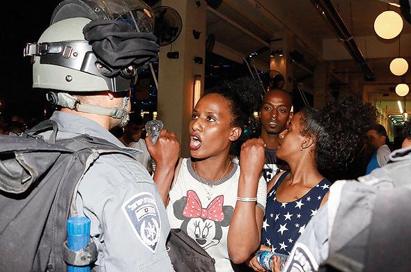 הפגנת יוצאי אתיופיה נגד אלימות שוטרים, 2015