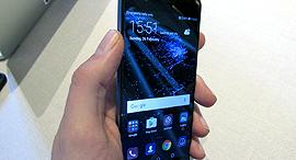 וואווי P10 סמארטפון תערוכת המובייל MWC ברצלונה 1, צילום: עומר כביר