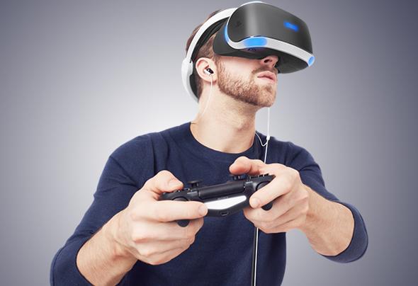 הטכנולוגיה עוד בחיתוליה. פלייסטיישן VR של סוני