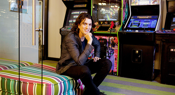 WeWork CEO Adam Neumann. Photo: Dan Kenan