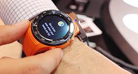ה שעון החדש של וואוי מכנס MWC ברצלונה, צילום: עומר כביר