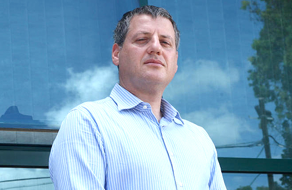 """גונן פינק מנכ""""ל לייטסייבר, צילום: עמית שעל"""