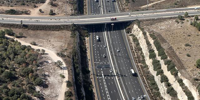 כביש 6, צילום: עמית שעל
