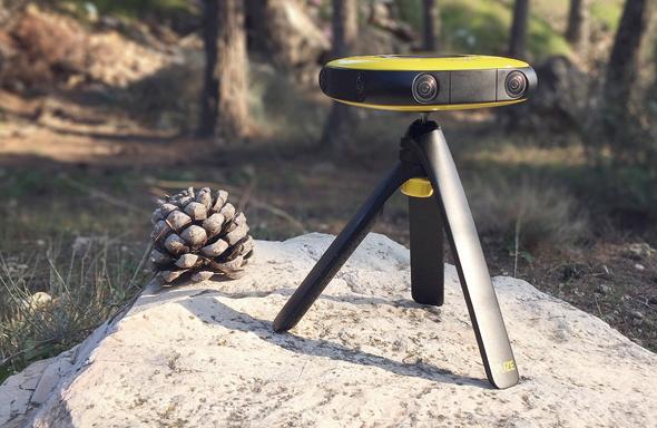 מצלמה Vuze VR אינטל