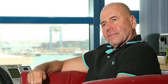 """מנדי זלצמן מנכ""""ל נמל חיפה, צילום: אלעד גרשגורן"""