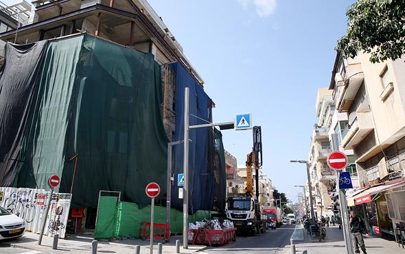 """תמ""""א 38 ברחוב שינקין 56, תל אביב"""