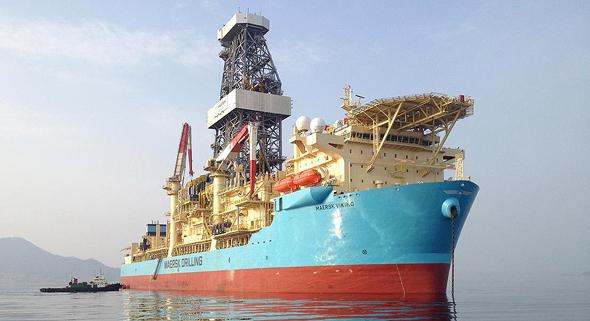 ספינת קידוח נפט של אקסון בגינאה הצרפתית