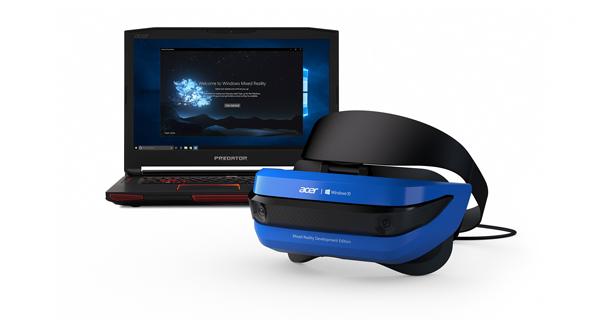 קסדת VR של אייסר, צילום: אתר  blogs.windows.com
