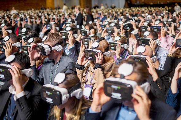מובילאיי שיא גינס למספר האנשים הגדול ביותר שהשתמשו יחד ב משקפי מציאות מדומה VR