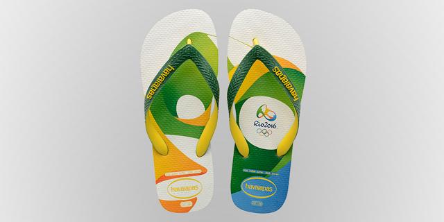 בזכות הכפכפים - ריו דה זנ'רו היא האולימפיאדה שבה נמכרו הכי הרבה מרצ'נדייז