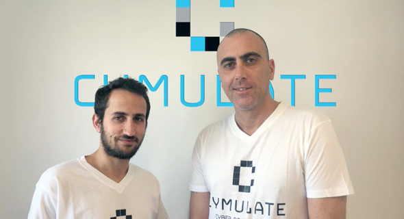 Cymulate co-founders Avihai Ben-Yossef and Eyal Wachsman. Photo: PR