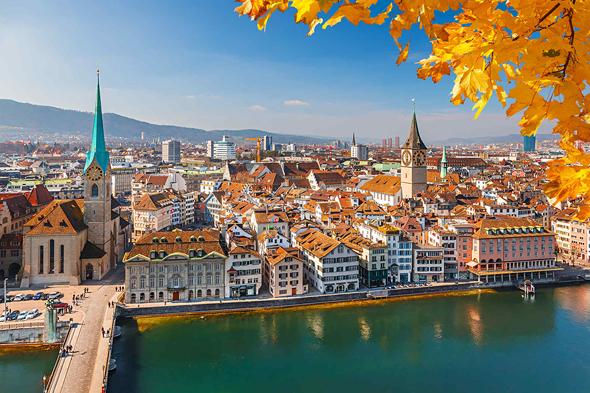 ציריך, שוויץ. המדינה הכי שיוויונית ברמות העושר